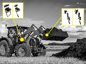 Tractor Front Loader - 2 functions