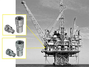 Top drives in offshore drilling