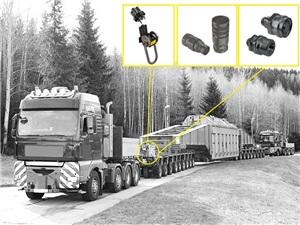Heavy-duty modular vehicles (SPMT)
