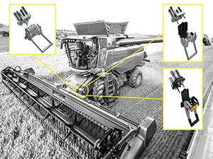 Harvesters (traditional multiconnector solutions)