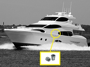 Pre-charged refrigeration units for boats