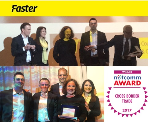 Faster awarded for e-Commerce