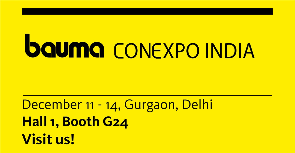 Bauma Conexpo India 2018