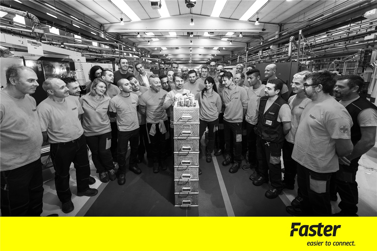 Faster: one of the best work environment in Italy