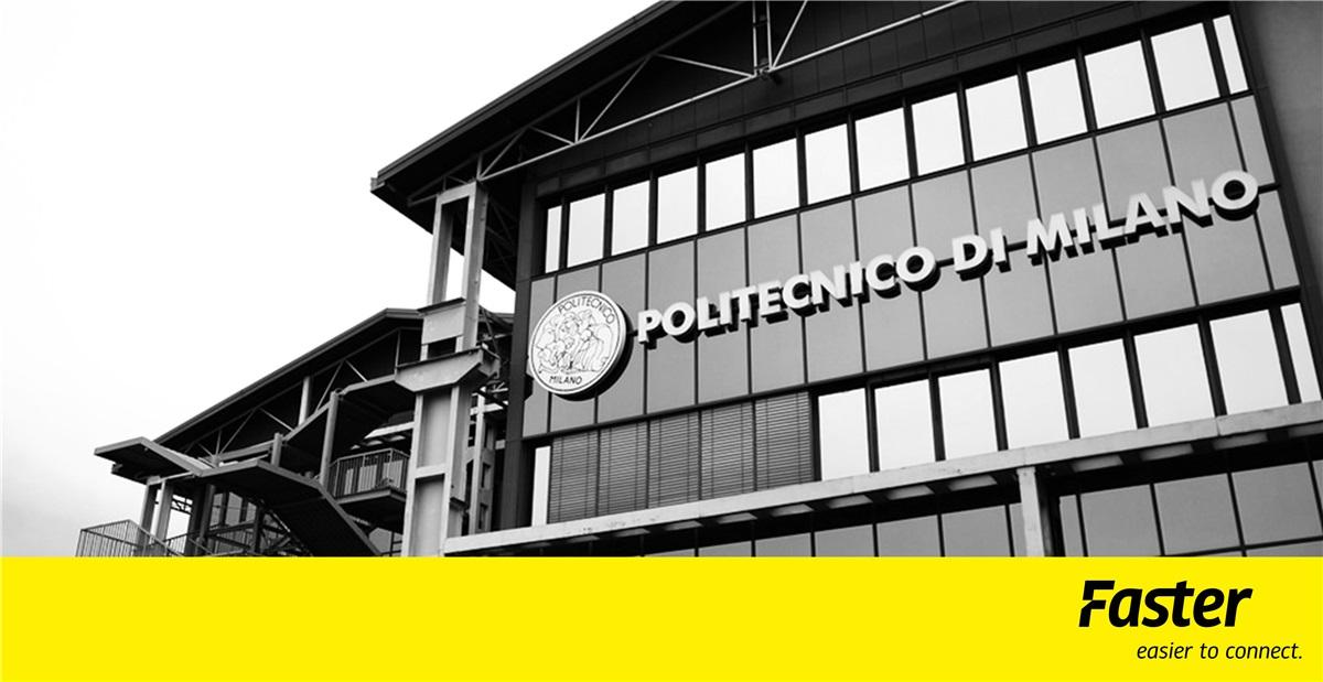 Faster e PoliMi, la collaborazione continua!
