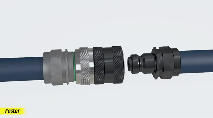 UHP: Ultra High Pressure couplings